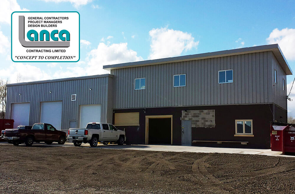 R. L. Lancaster Construction – Service Bay & Office Expansion