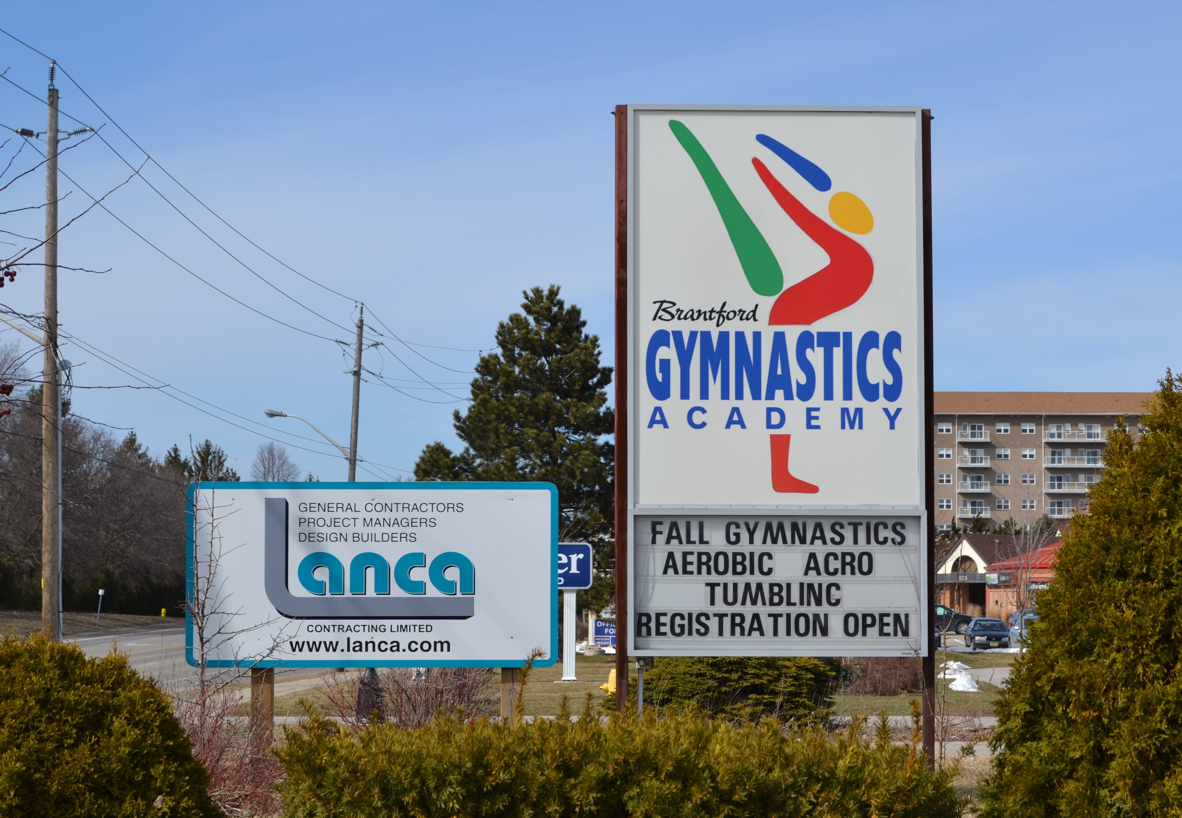 Brantford Gymnastics Academy – New Building